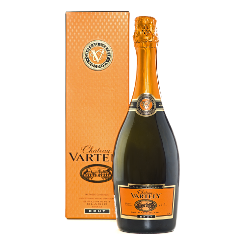 Chateau Vartely - Spumant Clasic Alb Brut