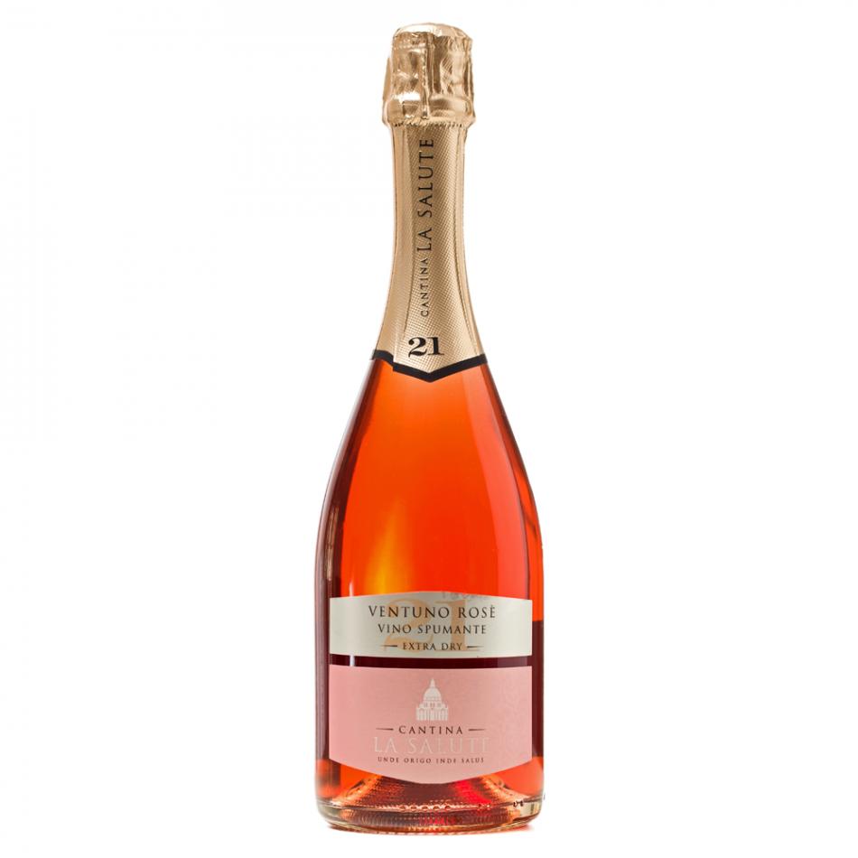 Cantina La Salute - Ventuno Rose Vino Spumante Extra Dry