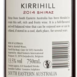 Kirrihill - South Eastern Shiraz 2014