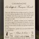 Francois Seconde - Champagne Grand Cru La Loge Brut