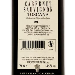 San Fabiano Calcinaia - Cabernet Sauvignon 2011