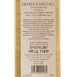 Basilescu - CB Chardonnay 2016