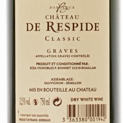 Chateau de Respide - Classic Graves Blanc 2017