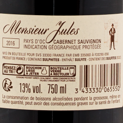 Monsieur Et Mademoiselle - Mr. Jules 2016