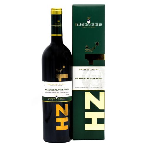 Vin Rosu - Marques de la Concordia - HZ Abascal Vineyard Premium 2011