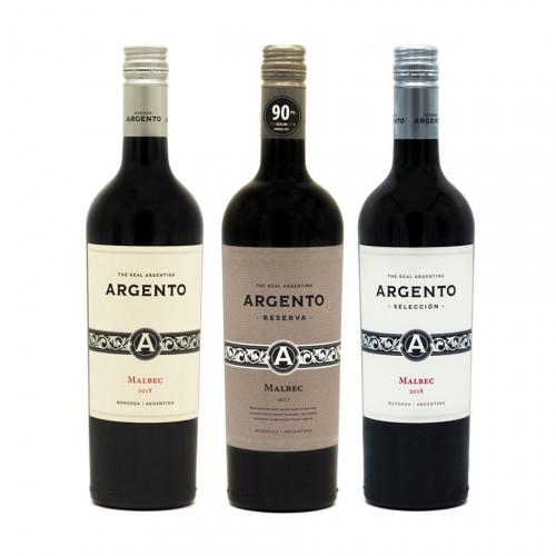 Pachet Malbec Argentinian - Tres Tintos de Bodega Argento