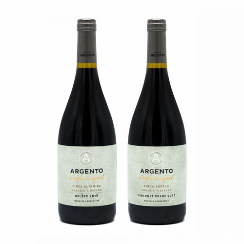 Pachet Argento - Single Vineyard Organic Wines