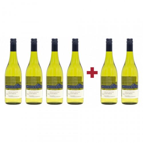 Pachet Breedeweelde Chenin Blanc 4 + 2 CADOU