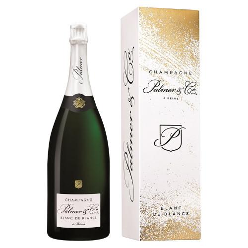 Palmer & Co - Champagne Blanc de Blancs Magnum + CUTIE