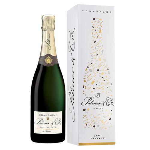 Palmer & Co - Champagne Brut Réserve Magnum + CUTIE