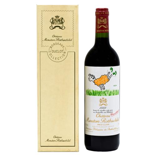 Vin Rosu - Chateau Mouton Rothschild - Pauillac 1999