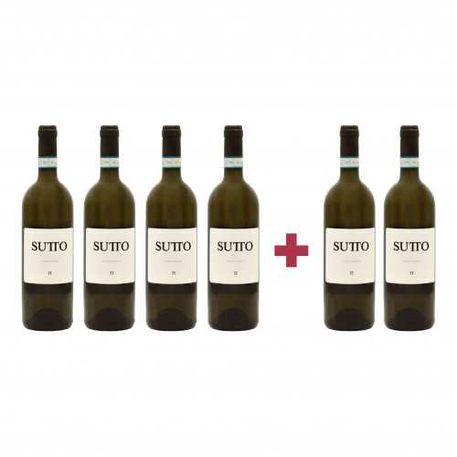 Pachet Sutto 2018 Pinot Grigio 4 + 2 CADOU