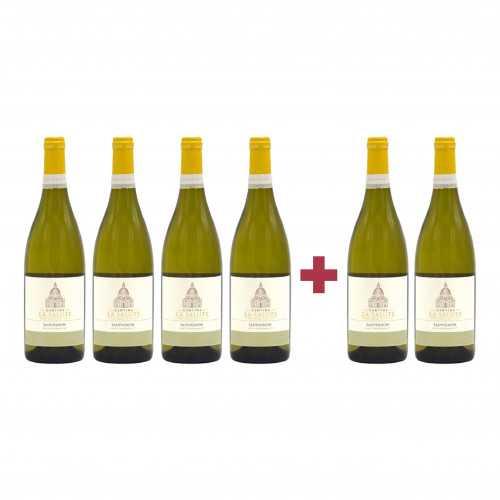 Pachet La Salute 2018 Liette Sauvignon Blanc 4 + 2 CADOU