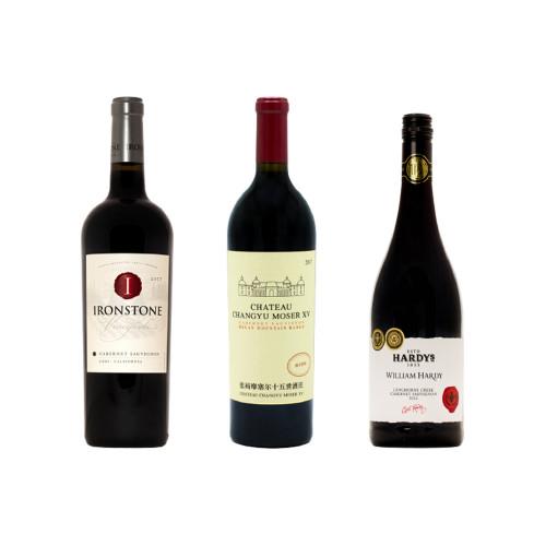 Pachet Trio Cabernet Sauvignon A