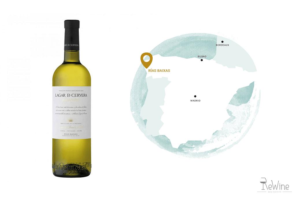 Vin alb spaniol: Albarino