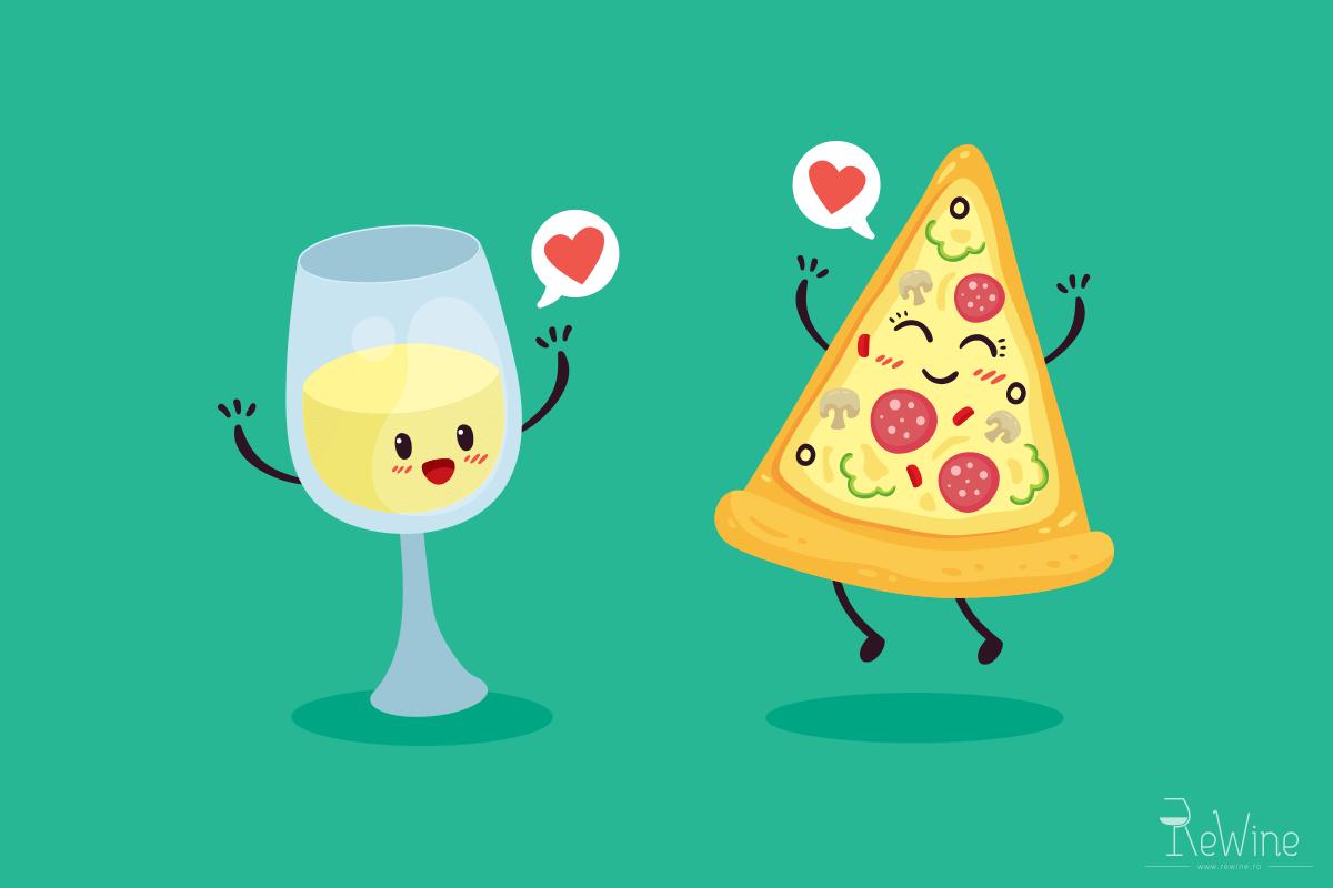 Asocieri culinare in stil italian: pizza si vin!