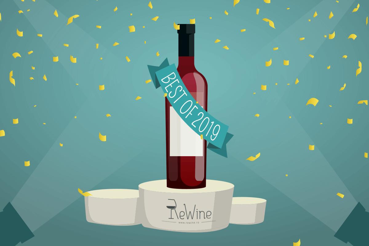 Top cele mai cumparate vinuri de la Rewine in 2019