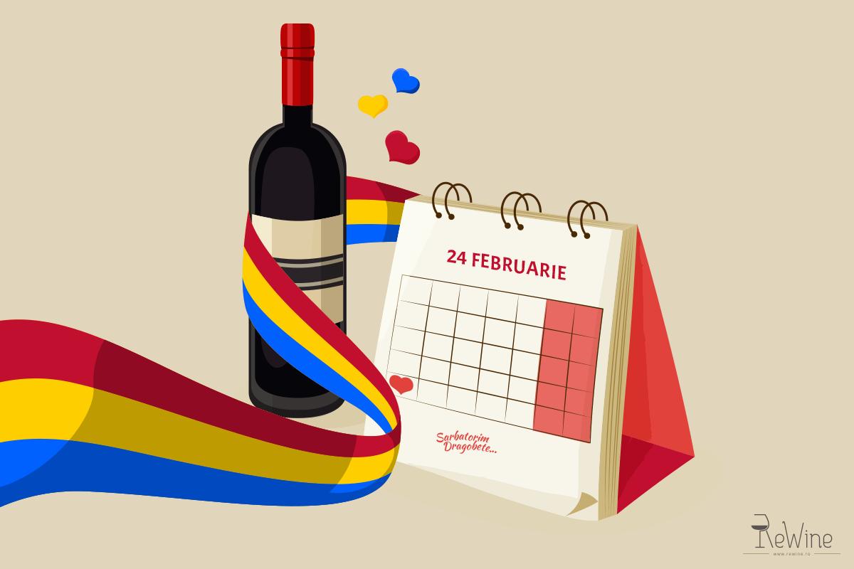 Sarbatorim Dragobete cu vinuri romanesti